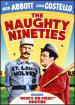 The Naughty Nineties [Vhs]