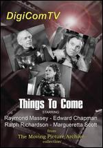 Things to Come [Vhs]