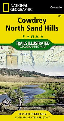 Cowdrey Area & North Sand Hills, Colorado-Trails Illustated Map # 113 - National Geographic Maps