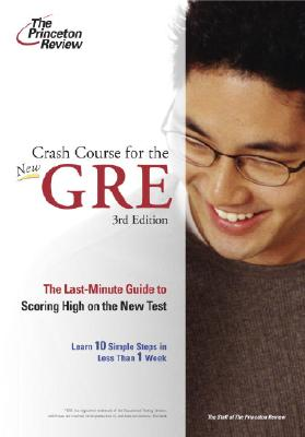 Crash Course for the GRE - Voelkle, Wendy