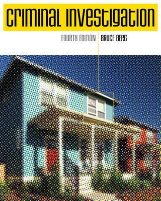 Criminal Investigation - Berg, Bruce L