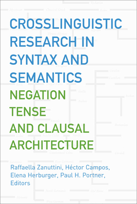 Crosslinguistic Research in Syntax and Semantics: Negation, Tense, and Clausal Architecture - Zanuttini, Raffaella (Editor), and Campos, Hector (Editor), and Herburger, Elena (Editor)