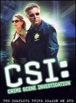 CSI: Crime Scene Investigation - The Complete Third Season [6 Discs]