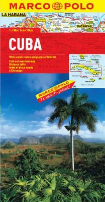 Cuba Marco Polo Map -
