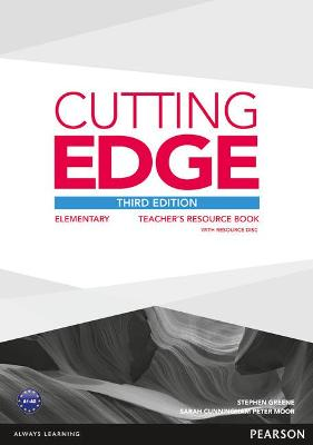 Cutting Edge 3rd Edition Elementary Teacher's Book with Teacher's Resources Disk Pack - Greene, Stephen, and Cunningham, Sarah, and Moor, Peter
