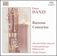Danzi: Bassoon Concertos - Albrecht Holder (bassoon); New Brandenburg Philharmonic; Nicolas Pasquet (conductor)