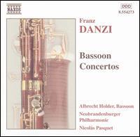 Danzi: Bassoon Concertos - Albrecht Holder (bassoon); New Brandenburg Philharmonic; Nicolas Pasquet (conductor)
