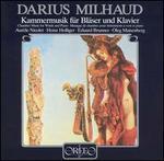 Darius Milhaud: Kammermusik für Bläser und Klavier