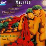 Darius Milhaud: Songs