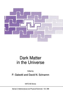 Dark Matter in the Universe - Galeotti, P (Editor), and Schramm, David N (Editor)