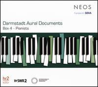 Darmstadt Aural Documents, Box 4: Pianists - Alessandro Pianu (electronics); Aloys Kontarsky (piano); Andor Foldes (piano); Andor Losonczy (piano); Anna D'errico (piano);...