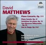 David Matthews: Music for Piano