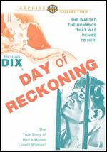 Day of Reckoning - Charles J. Brabin; Wilfred Lucas