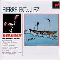 Debussy: Orchestral Works - Alice Chalifoux (harp); Gervase de Peyer (clarinet); John Alldis Choir (choir, chorus); Pierre Boulez (conductor)
