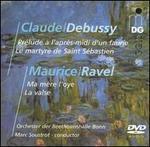 Debussy: Prélude à l'après-midi d'un faune; Ravel: Ma mère l'oye [DVD Audio]