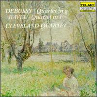 Debussy: Quartet in G; Ravel: Quartet in F - Atar Arad (viola); Donald Weilerstein (violin); Paul Katz (cello); Peter Salaff (violin)