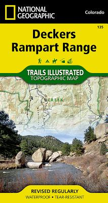 Deckers & Rampart Range, Colorado Trail Map - Trails Illustrated