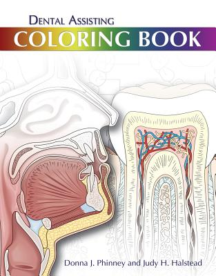 9781439059319 Dental Assisting Coloring Book