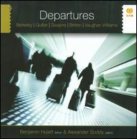 Departures - Alexander Soddy (piano); Benjamin Hulett (tenor)