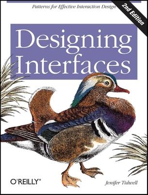 Designing Interfaces - Tidwell, Jenifer