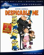 Despicable Me [Blu-ray/DVD] [Includes Digital Copy] [Universal 100th Anniversary] - Chris Renaud; Pierre Coffin