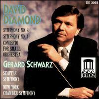 Diamond: Symphonies 2 & 4 / Concerto for Orchestra - Seattle Symphony Orchestra; Gerard Schwarz (conductor)