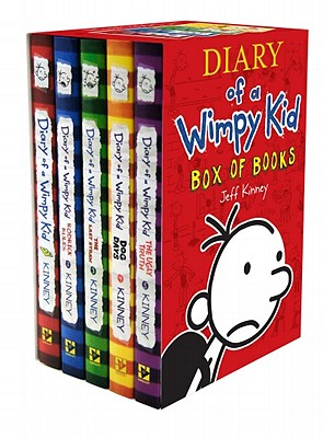 Diary of a Wimpy Kid Box of Books - Kinney, Jeff