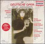 Die deutsche Oper des 20. Jahrhunderts (German Opera of the 20th Century)