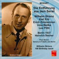 Die Entführung aus dem Serail - Alexander Welitsch (bass); Carla Spletter (soprano); Elisabeth Waldenau (alto); Erich Zimmermann (tenor);...