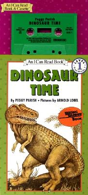 Dinosaur Time Book and Tape - Parish, Peggy, and Lobel, Arnold