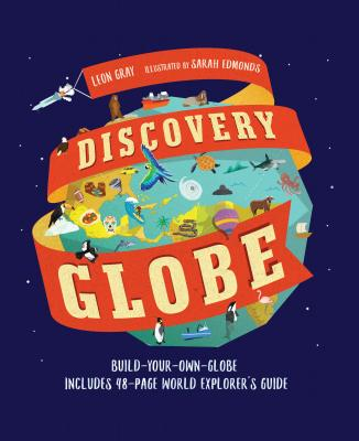 Discovery Globe: Build-Your-Own Globe Kit - Gray, Leon
