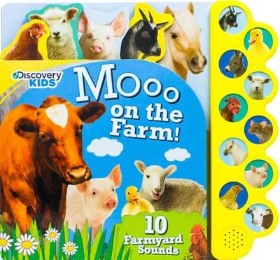 Discovery Kids Moo on the Farm!: 10 Farmyard Sounds - Parragon (Creator)