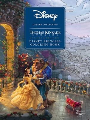 Disney Dreams Collection Thomas Kinkade Studios Disney Princess Coloring Book - Kinkade, Thomas
