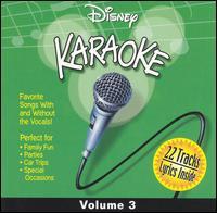 Disney Karaoke, Vol. 3 - Karaoke