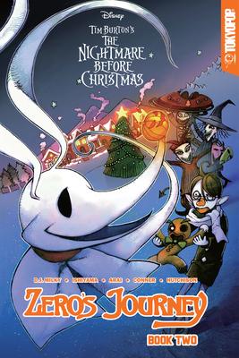 Disney Manga: Tim Burton's the Nightmare Before Christmas - Zero's Journey Graphic Novel Book 2 - Milky, D J, and Ishiyama, Kei, and Hutchison, David