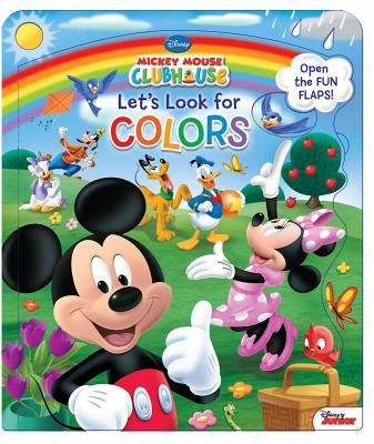 Disney Mickey Mouse Clubhouse Let's Look for Colors - Disney Mickey Mouse Clubhouse, and Amerikaner, Susan