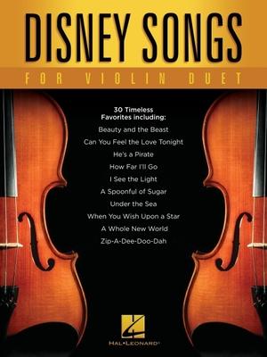Disney Songs for Violin Duet - Hal Leonard Corp (Creator)
