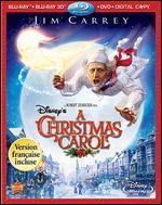 Disney's A Christmas Carol [4 Discs] [Blu-ray/DVD] [French]
