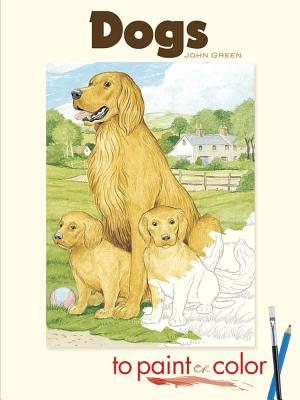 Dogs to Paint or Color - Green, John