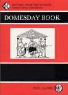 Domesday Book, Index, Part 1: Places - Dodgson, J McN, and Palmer, J J N, and Morris John