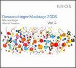 Donaueschinger Musiktage 2006, Vol. 4  - Schoenberg Ensemble; Reinbert de Leeuw (conductor)