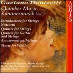 Donizetti: Chamber Music, Vol. 3