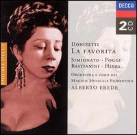 Donizetti: La Favorita - Bice Magnani (vocals); Ettore Bastianini (vocals); Gianni Poggi (vocals); Giulietta Simionato (vocals);...