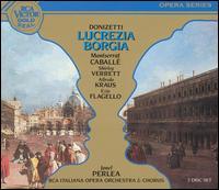 Donizetti: Lucrezia Borgia - Alfredo Kraus (tenor); Andrea Mineo (baritone); Camillo Sforza (tenor); Ezio Flagello (bass); Fernando Iacopucci (tenor);...