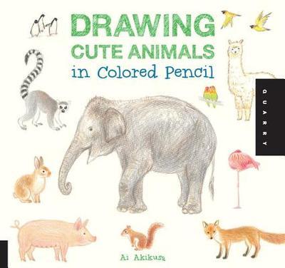 Drawing Cute Animals in Colored Pencil - Akikusa, Ai
