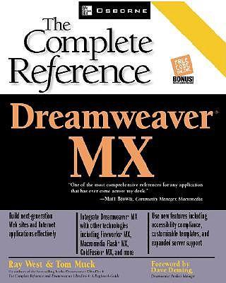 Dreamweaver MX - West, Ray, and Muck, Tom