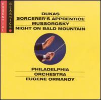 Dukas: Sorcerer's Apprentice; Mussorgsky: Night on Bald Mountain - Philadelphia Orchestra; Eugene Ormandy (conductor)