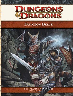 Dungeon Delve: Roleplaying Game Supplement - Noonan, David
