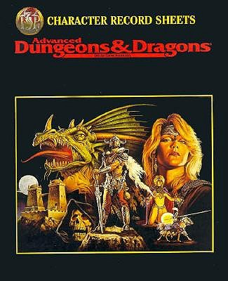 Dungeons and Dragons: Character Record Sheets - Winter, Steve