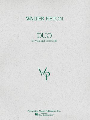 Duo for Viola and Violoncello: Score and Parts - Piston, Walter (Composer)